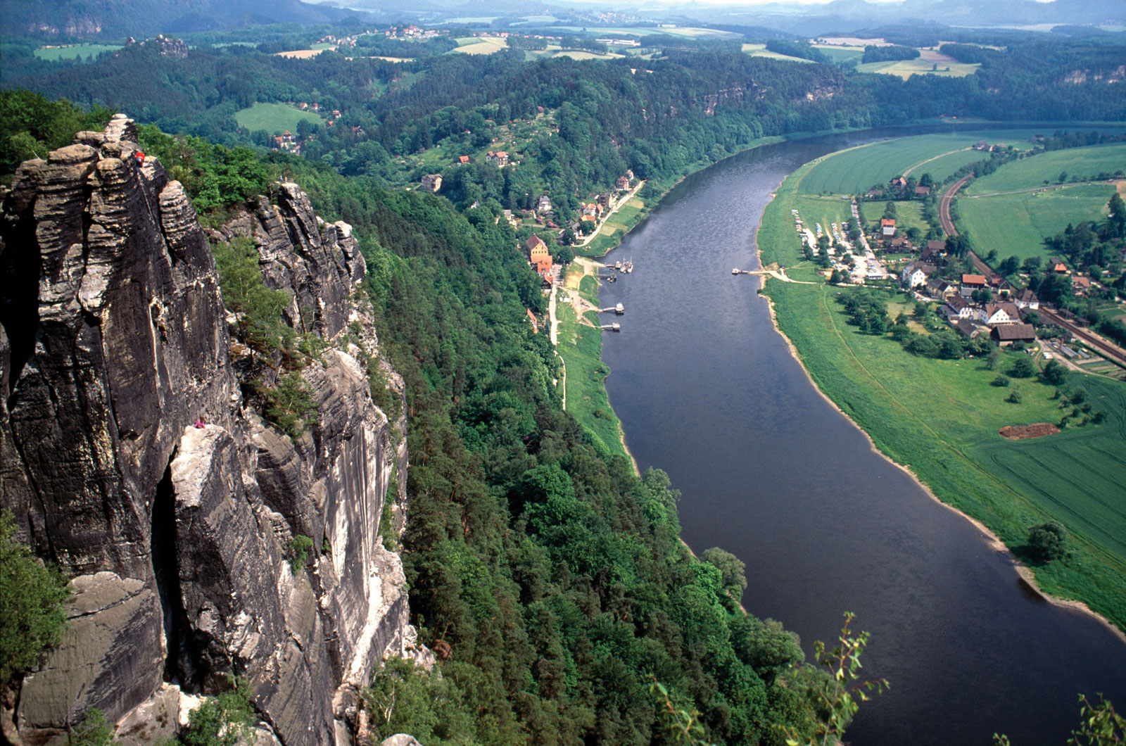 Elbe From Above